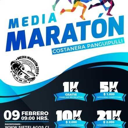 IV Medio Maratón Panguipulli Sietelagos
