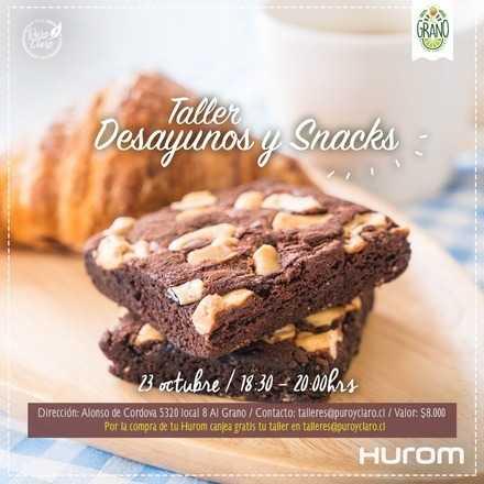 Taller Hurom - Desayunos y Snacks