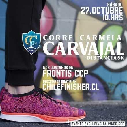 Liceo Carmela Carvajal de Prat #CorreCarmela