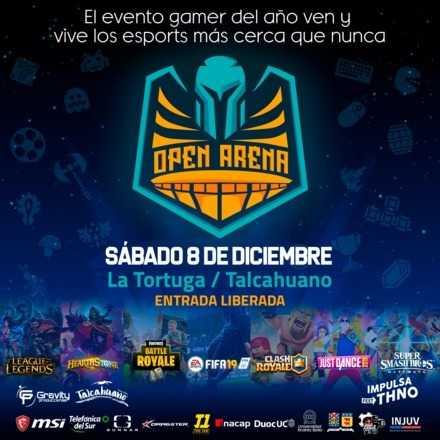 Open Arena Talcahuano 2018