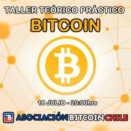 Workshop Teórico Práctico de Bitcoin [Julio]