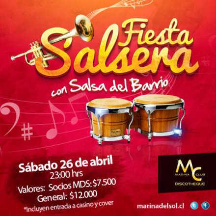 Fiesta Salsera con Salsa del Barrio