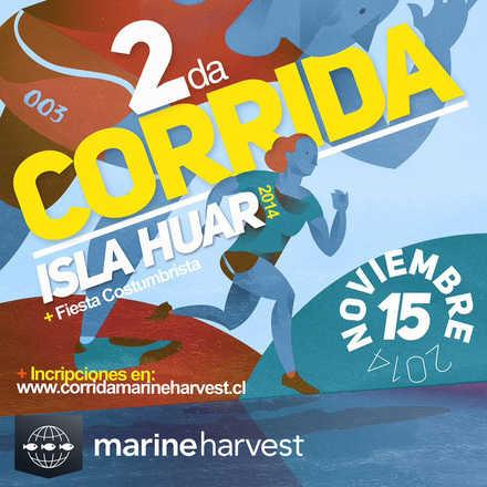 Corrida Isla Huar  - Marine Harvest