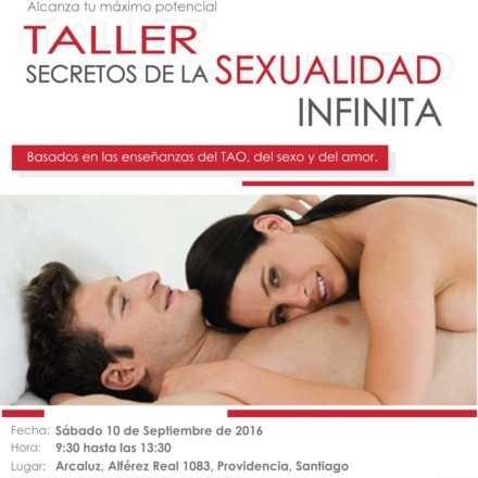 Taller Secretos de la Sexualidad Infinita