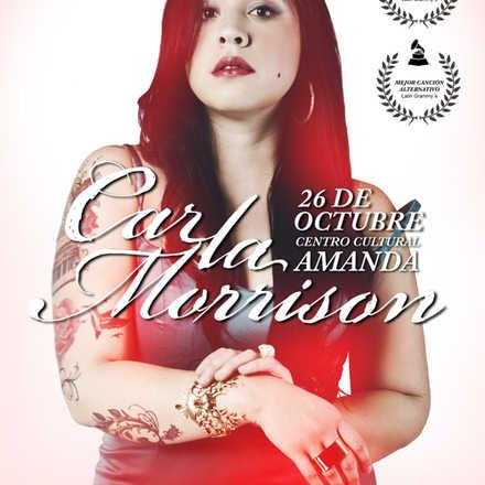 CARLA MORRISON EN VIVO | SÁBADO 26 DE OCTUBRE