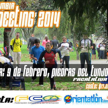 Primera Fecha Campeonato Nacional de Orientación de Colombia   09-Febrero-2014