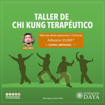 Taller de Chi Kung Terapéutico 8 septiembre 2021
