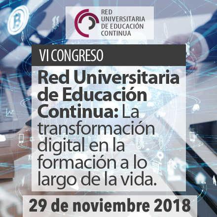 VI Congreso Red Universitaria de Educación Continua