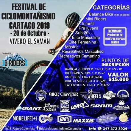 Festival de Ciclomontañismo Cartago 2019
