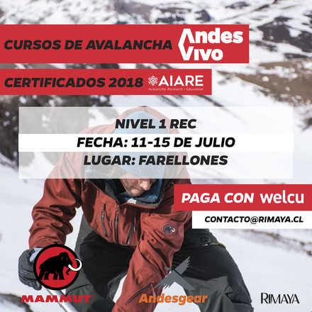 Cursos de Avalancha AIARE Nivel 1