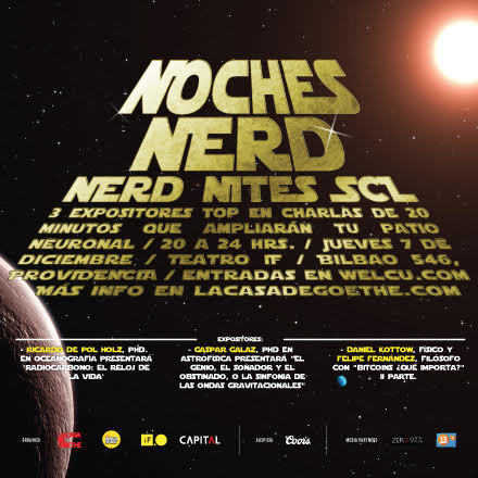 Noche Nerd 7 de Diciembre