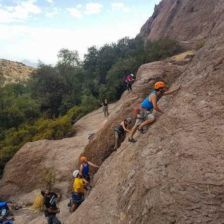 Curso Iniciación a la Escalada en Roca Malku Abril 2019 2da Versión