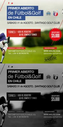 Primer Abierto de Fútbol&Golf en Chile