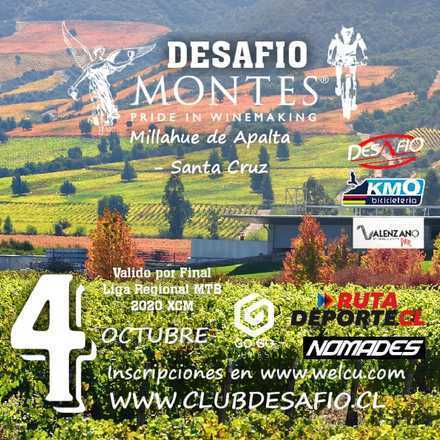 Desafío Viña Montes  (Final Liga Regional MTB 2020 XCM)