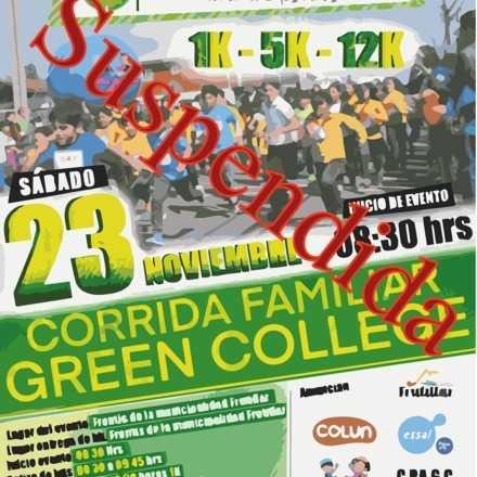 CORRIDA FAMILIAR GREEN COLLEGE 2019