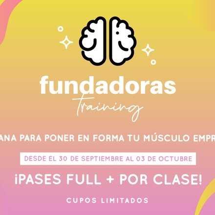 Trainning de Fundadoras