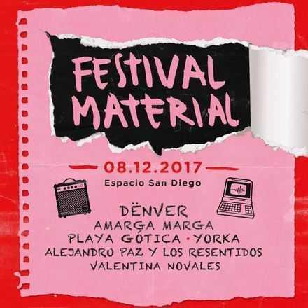 FESTIVAL MATERIAL