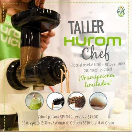 Taller Hurom Chef 30 agosto