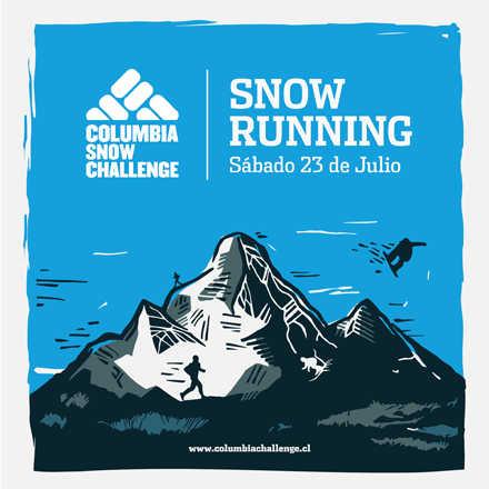 SNOW RUNNING - Columbia Snow Challenge 2016