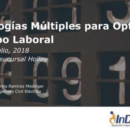 Taller: Metodologías Múltiples para Optimizar tu Tiempo Laboral