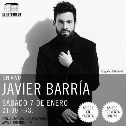 Javier Barría en Vivo en Valparaiso