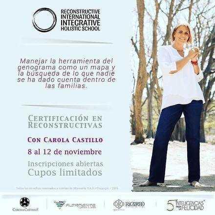 """Certificación en Constelaciones Familiares """"Reconstructivas"""""""