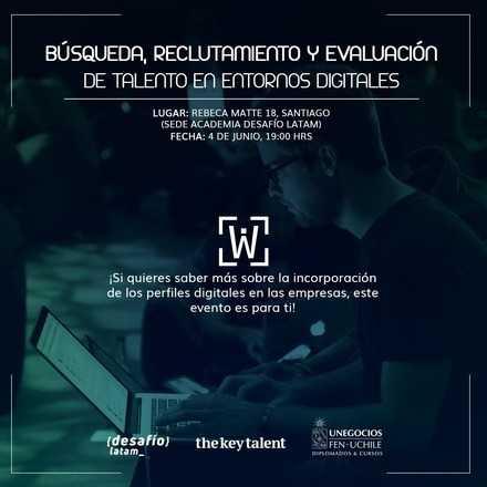 Búsqueda, reclutamiento y evaluación de talento en entornos digitales