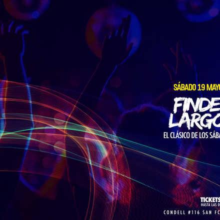 Santo Averno / Finde Largo / Sábado 19 Mayo