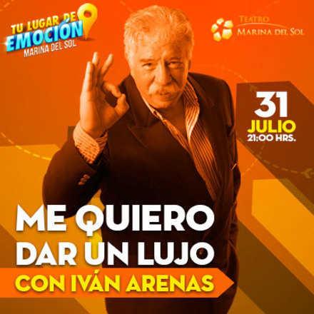 """Iván Arenas """"Me quiero dar un Lujo"""""""