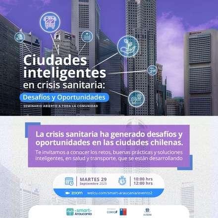 Ciudades Inteligentes en crisis sanitaria: desafíos y oportunidades