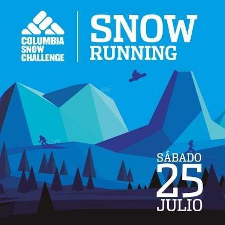 SNOW RUNNING - Columbia Snow Challenge