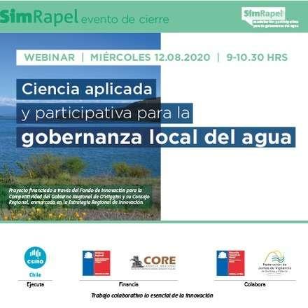 Ciencia aplicada y participativa para la gobernanza local del agua