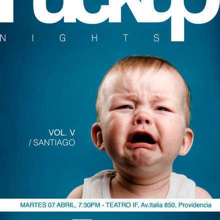 Fuckup Nights Santiago Vol. V