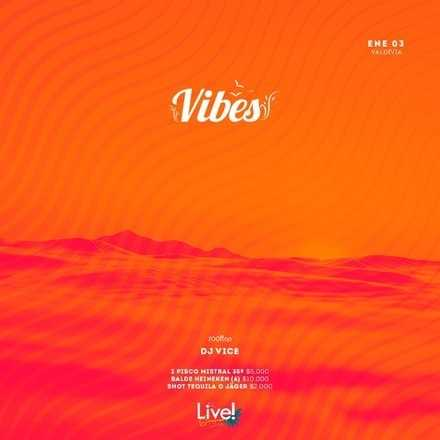 LIVEGROUP // JUEVES 03 ENERO  // DJ VICE