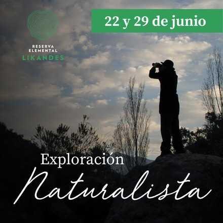 Exploración Naturalista 29 de junio