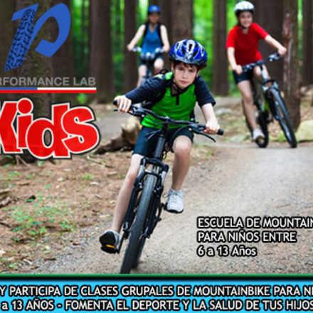 Escuela de Mountainbike para niños Performance-KIDS
