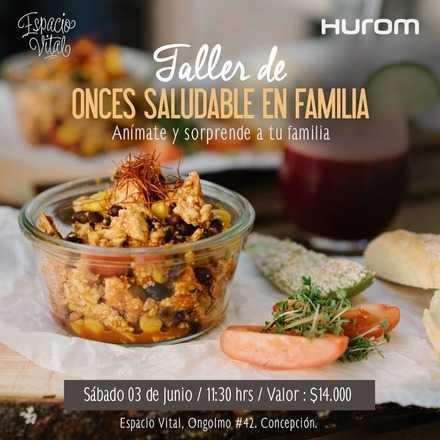 Taller Hurom Onces Saludables - Concepción