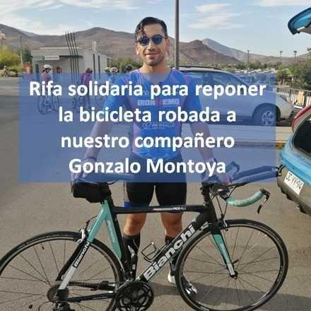 Rifa a beneficio para reponer bici robada