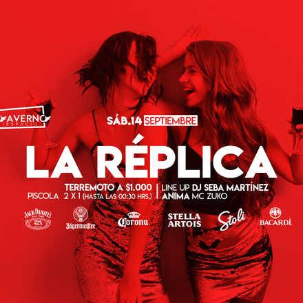 """Santo Averno """"La Réplica"""" Sábado 14 Septiembre"""