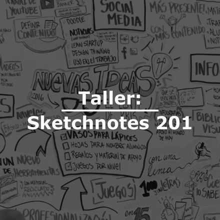 Taller: Sketchnotes 201