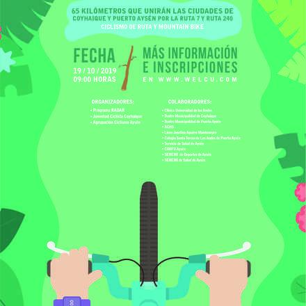 Gran Fondo RADAR. Ciclismo por la salud mental de Aysén