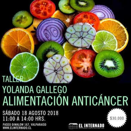 Yolanda Gallego - TALLER Alimentación Anticáncer