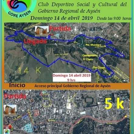 4ta. Corrida Familiar Club Gore Aysen