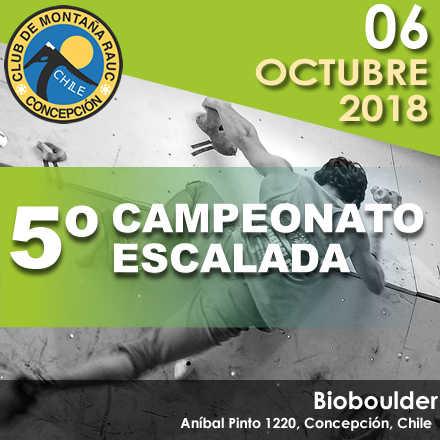 5º Campeonato Escalada CMRAUC