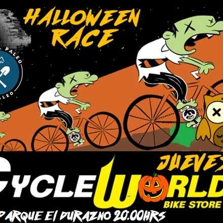 Halloween night race by CycleWorld