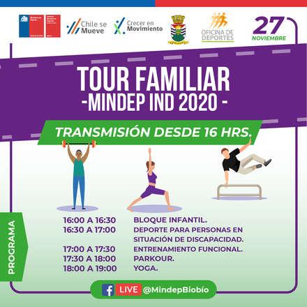 Tour MINDEP - IND Biobío 2020 Transmisión desde Chiguayante