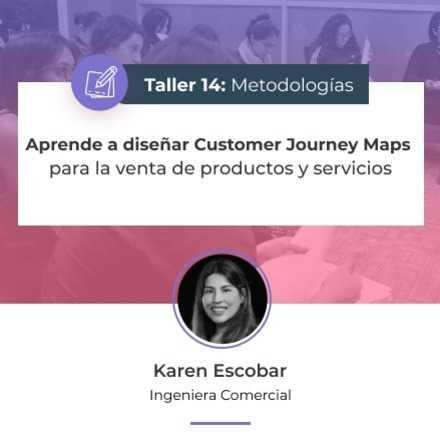 Aprende a diseñar Customer Journey Maps para la venta de productos y servicios
