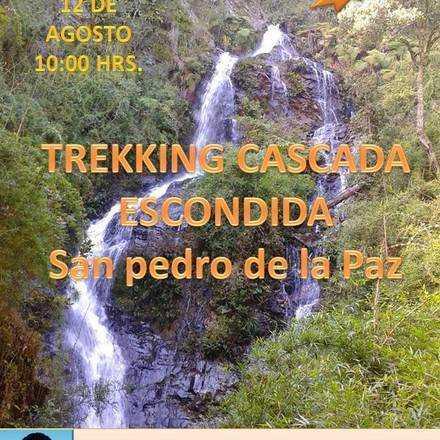 Trekking Cascada escondida san Pedro de la Paz
