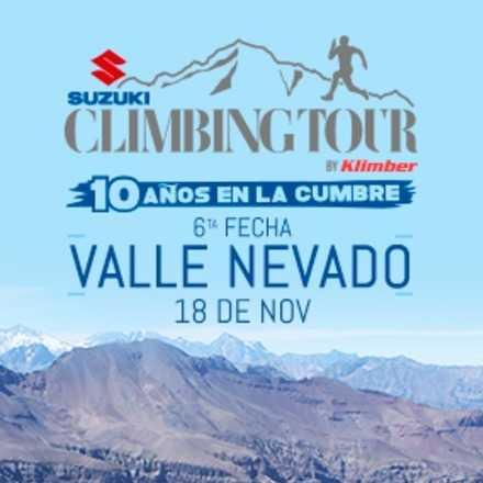 Climbing Tour 6a Fecha 2018. 17 de noviembre