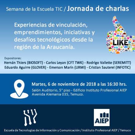 Jornada de Charlas TIC 2018